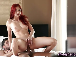 Doggy Style Redhead euro anally pounded until cumshot