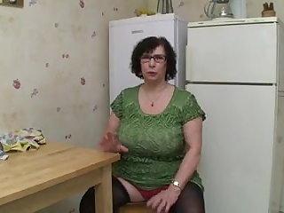 Mature Big Tit BBW Granny