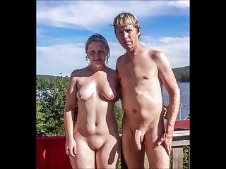 Greek Mature nudists couples