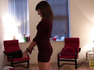 Mexican PASCALSSUBSLUTS - Submissive Adreena Winters ass fucking