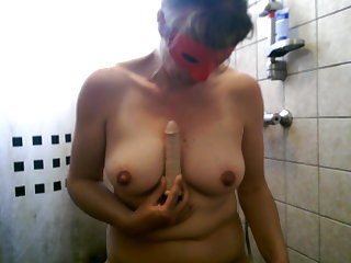 Dutch Hairy and unshaven large pussy big clit masturbating