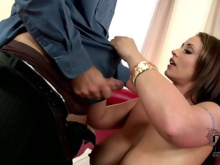 Eva Notty is one very beautiful and elegant woman - Big tits Eva Notty