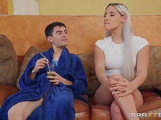 Cheating Perfect Blonde Whore Rides Juicy Big Dick