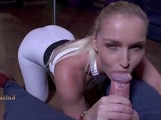 Orgy Kathia Nobili - Night Club Blowjob