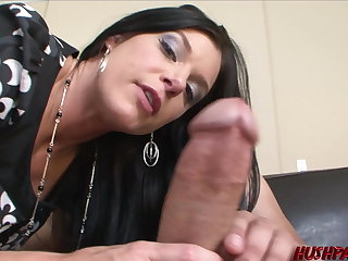 Insatiable MILF India Summer sucks and fucks monster cock India Summer