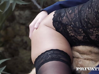 Public Nudity Private.com - Dicked! Alice Wayne & Cherry Kiss Share Cock!