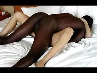 BBC Blonde Wife Cuckold Fuck With A BBC