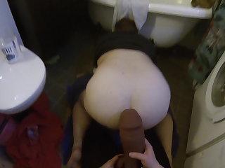 Swedish Mistress POV 20 - Strapon ass fuck using Weredog Riot XL