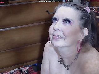 granny whore 65 y cum in face
