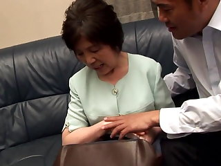 Gaping Another Japanese Granny