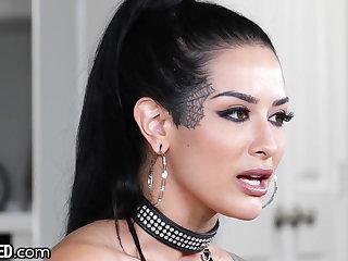 Gothic Throated - No One Gives A Sloppy Blowjob Like Katrina Jade