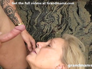 Titty Fucking Grandmas Love Cum