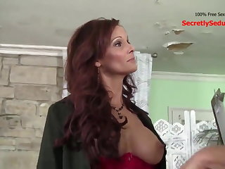 Halloween Freaky Mom Cheats on Husband With His Friend