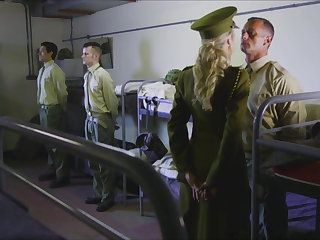 Military Brandi Love Fucks Major Love