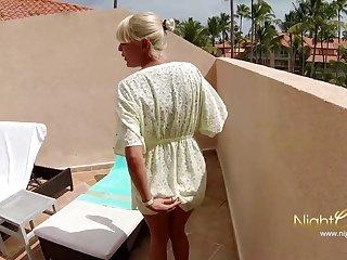 Blondes Geiler Urlaubsfick